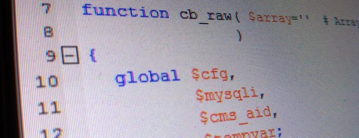 Screenshot neue Funktion CB_RAW()