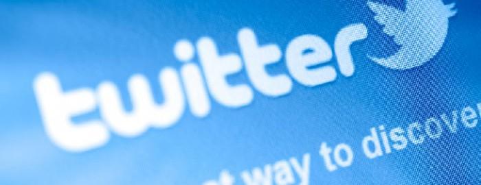 Twitter-Schriftzug